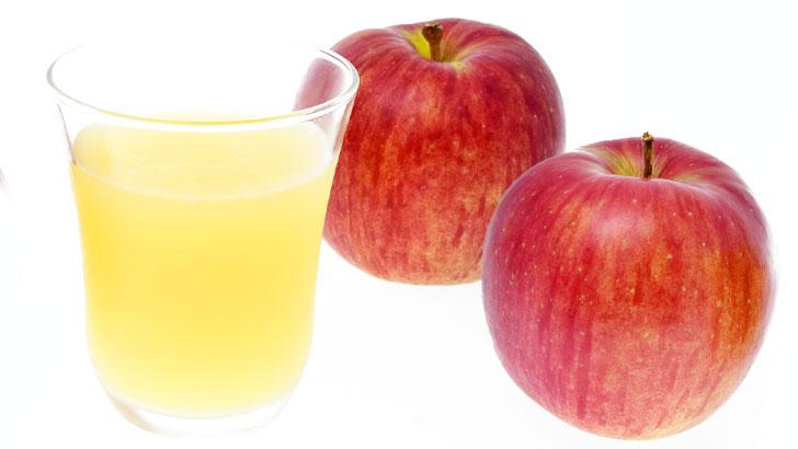 林檎とりんごジュースのイメージ