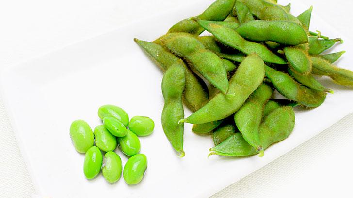枝豆のイメージ画像:食べ物辞典トップ用(slowbeauty)