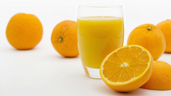 オレンジ&オレンジジュースイメージ