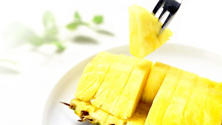 カットパイナップルのイメージ