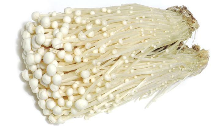 エノキ/えのき茸のイメージ画像:食べ物辞典トップ用