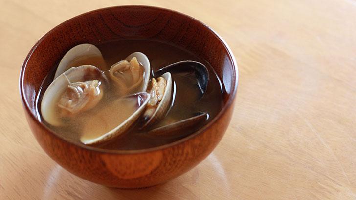 アサリの味噌汁イメージ
