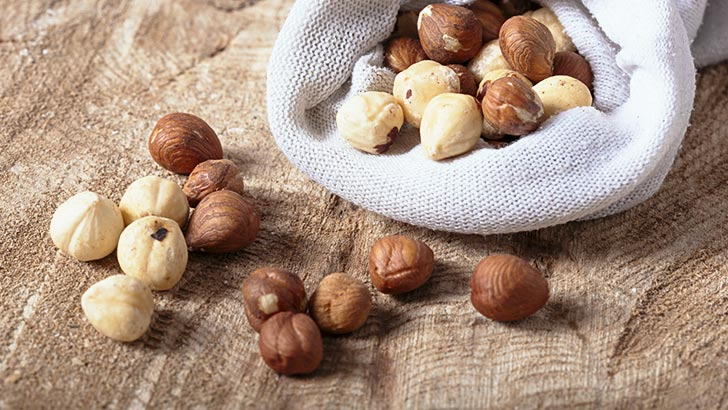 ヘーゼルナッツのイメージ画像:食べ物辞典トップ用