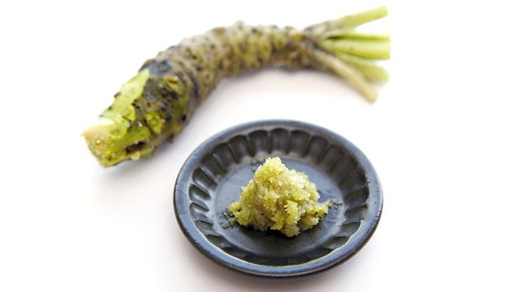 わさび(山葵)のイメージ画像:食べ物辞典トップ用