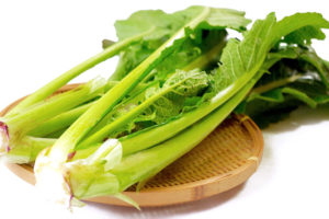 野沢菜(信州菜)のイメージ画像:食べ物辞典トップ用